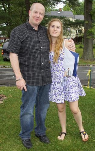 Rebecca HS Graduation 2011