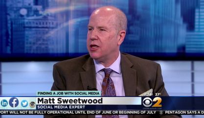 Matt Sweetwood @ CBSNY